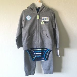 NWT Sweatsuit & Onesie Outfit